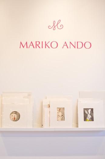 Mariko Ando版画展