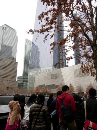 NY 911ワールドトレードタワー跡地