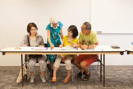 14 遊学 シニア留学 英語の授業 質問