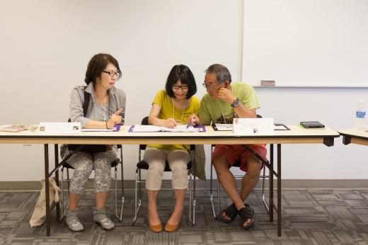 14 遊学 シニア留学 英語の授業