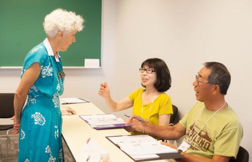 14 遊学 中高年留学 英語の授業