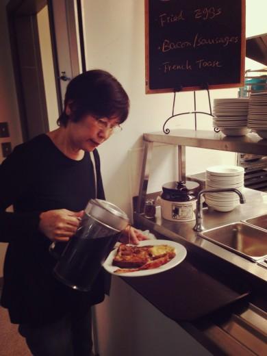 朝食 UBC