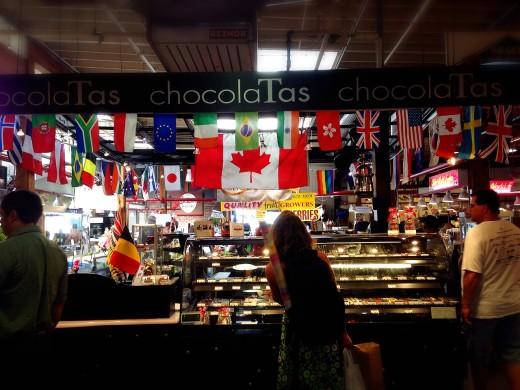 グランビルアイランド チョコレート