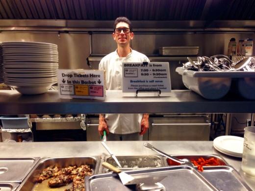 UBC amazing cook