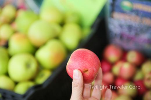オーガニックのりんご