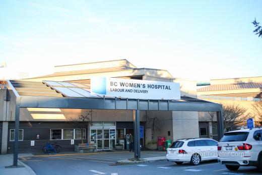 BC Womens 入院 受付