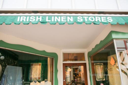 ビクトリア ティータオル Irish Line Store