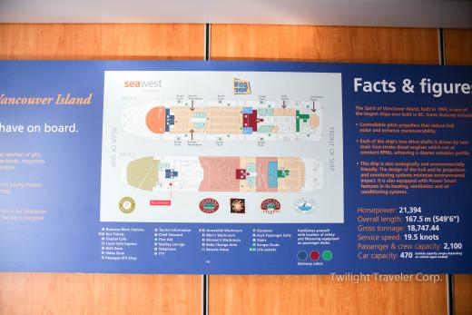 フェリー地図 ビクトリア ブッチャードガーデン 016