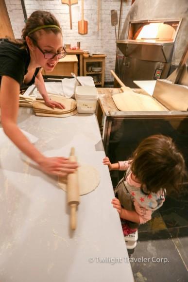 子供 ピザ作り体験