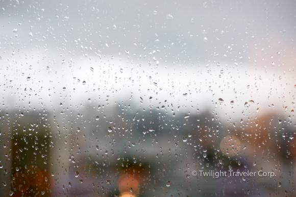 バンクーバー 雨