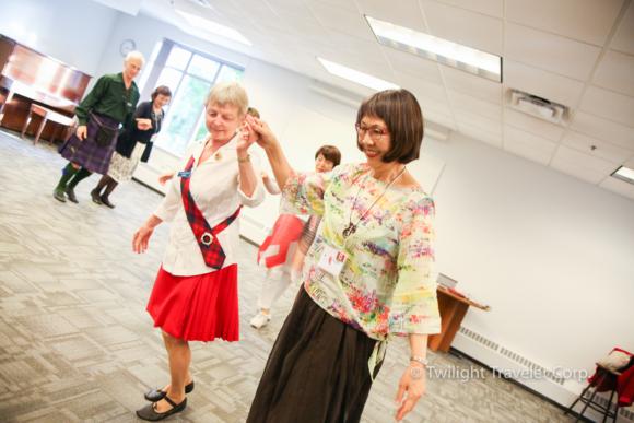シニア留学 ダンス 交流