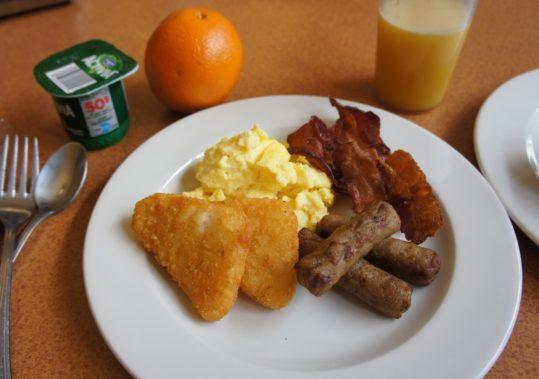 カナダ留学朝食