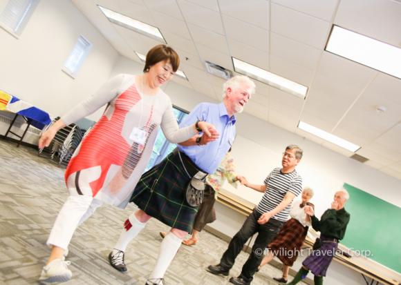 シニア留学 スコティッシュダンス