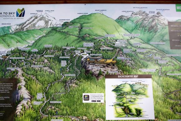 スクアミッシュ 地図