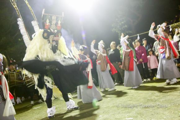 釜石祭り 小川神社 神楽