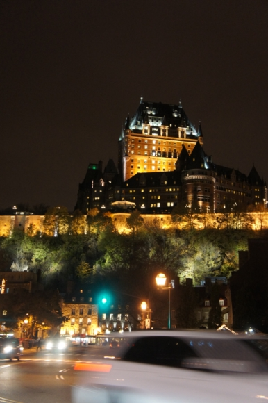 ケベック 夜景1