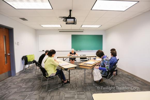 英語の授業の様子 大人の留学