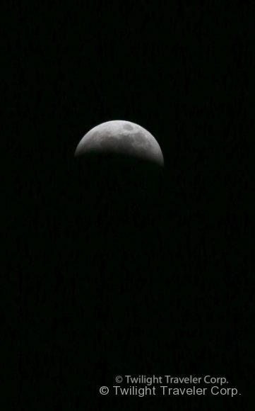 ビッグムーン 月食