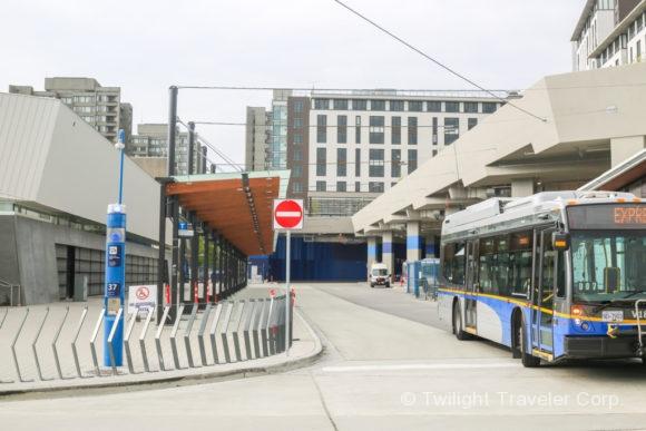 UBCバスターミナル