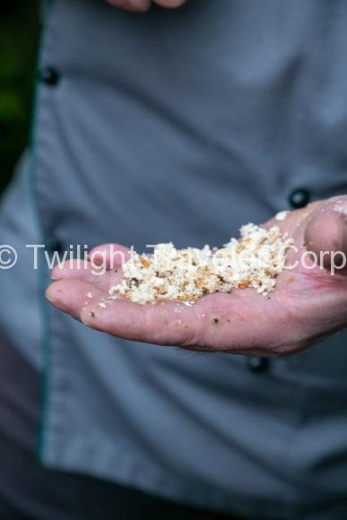 メープルの木屑