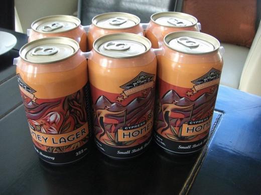 カナダの地ビール!