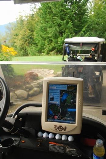 週末は景色の最高なFurry Creek でゴルフ!