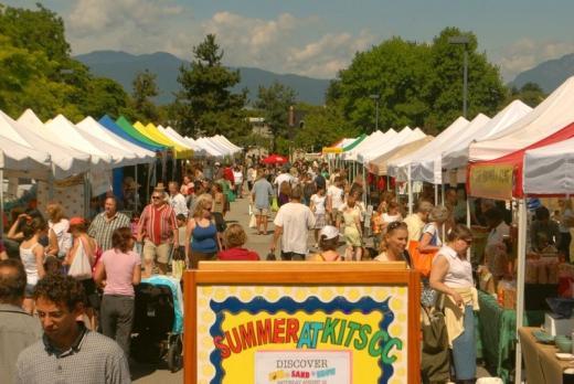 夏の楽しみ、オーガニックファーマーズマーケット!