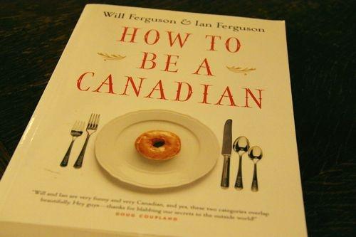 """昨日に続きカナダ人のアイデンティティーについての本""""How to Be a Canadian"""""""
