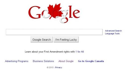 Google Canada day.JPG